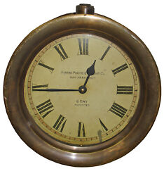 Timeworks Double Sided Railway Station Hanging Wall Clock - 10.5 x 6