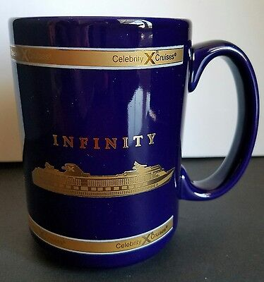 Gts Infinity   Cruise Ship   Vintage   Celebrity  Cruises Coffee Mug 2001