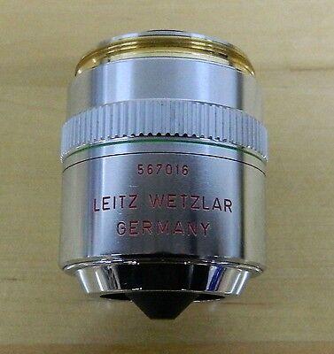 Leitz Wetzlar 20x Pl Fluotar Microscope Objective