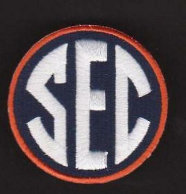 Auburn Tigers  Sec College Ncaa Jersey Patch 100  Embrodired New 2012