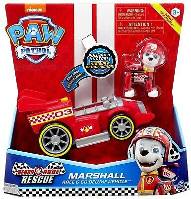 Paw Patrol Ready Race Rescue Race & Go Marshall Vehicle & Fi
