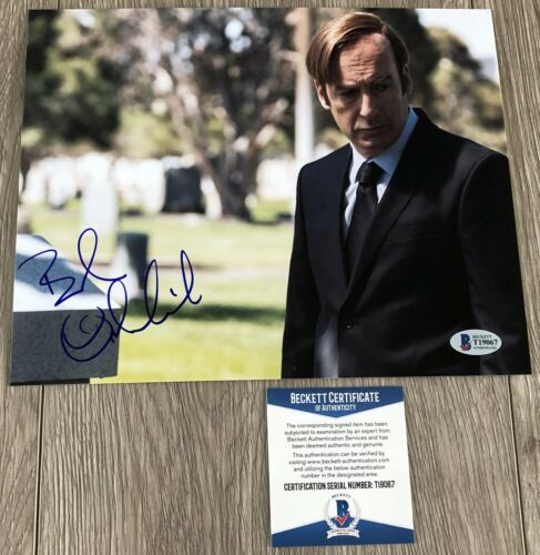 BOB ODENKIRK SIGNED BETTER CALL SAUL BREAKING BAD 8x10 PHOTO w/PROOF BAS BECKETT