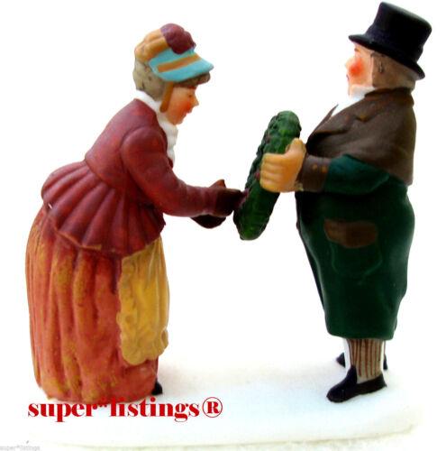 Dept. 56 Christmas Carol Holiday Mr. & Mrs. Fezziwig Retired Dickens 58319