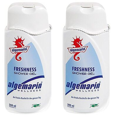Algemarin Wellness Freshness Shower Gel Frische Dusche 02x300ml..