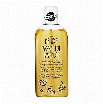 Deluxe Öl (Deluxe Massageöl von EIS, Erotisches Massage Öl, Lavendel Aroma, 250 ml SD)