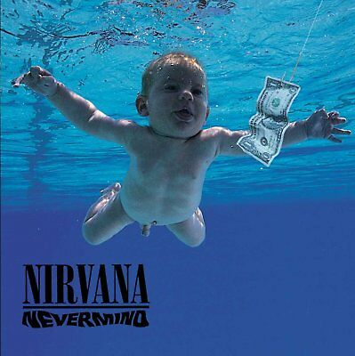 NIRVANA - NEVERMIND 180 GRAM VINYL LP ALBUM