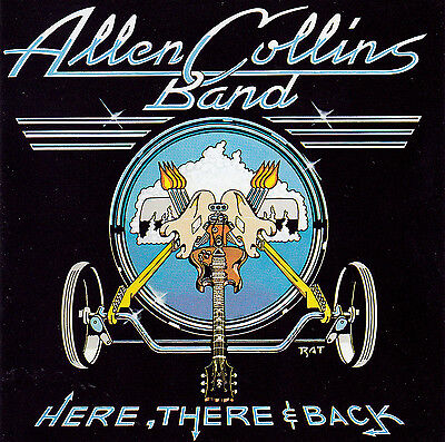 CD ALLEN COLLINS BAND - Here There & Back / Lynyrd Skynyrd / Southern Rock ()