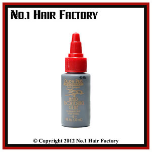 Salon Pro Hair Extension Bonding Glue 1 Fl oz Black