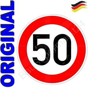 ORIGINAL-Verkehrszeichen-50-Verkehrsschild-Strassenschild-Schild-Geburtstagschild