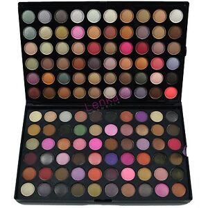 88 96 120 Lidschatten Palette + 7 15 21 32  Pinsel Set Kosmetik Make UP