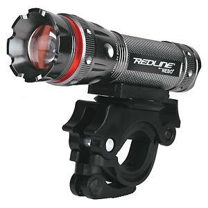 Nebo-Redline-220-Lumens-LED-Bike-Light-4x-Adjustable-Beam-180-Swivel