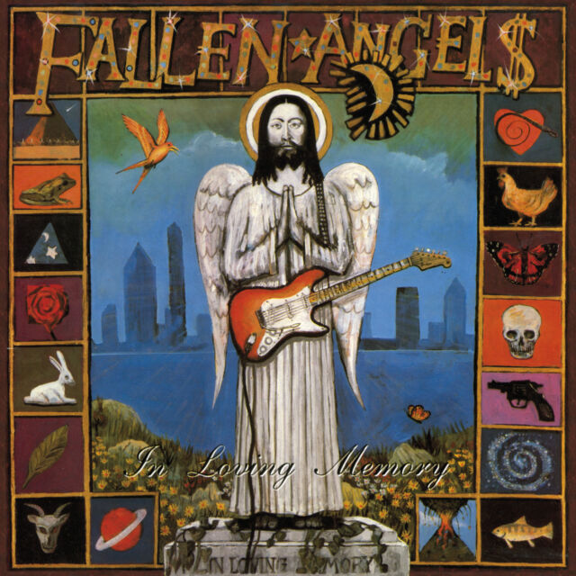 FALLEN ANGELS In Loving Memory / Wheel Of Fortune 2CD Knox Vibrators Hanoi Rocks