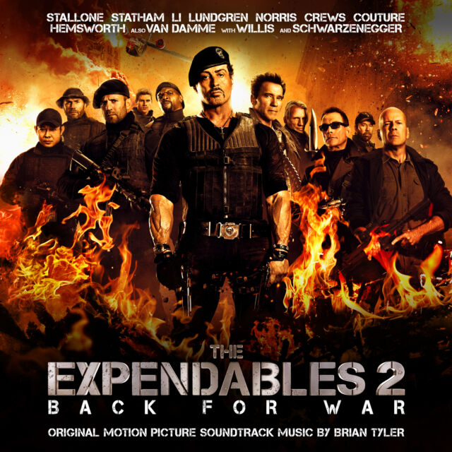 Brian Tyler OST - The Expendables 2