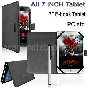 Leather Case Cover + Touch Pen Fr all 7 inch tablet /ASUS Google Nexus 7