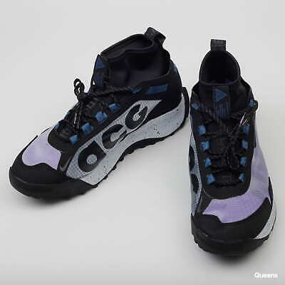 Nike ACG zoom Terra Zaherra hiking shoes purple black size UK 10...