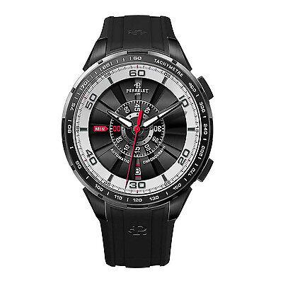 New Perrelet Tourbine 47mm Date Automatic Chrono Mens Watch 1075/1