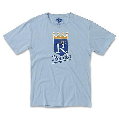 American Needle Brass Tacks MLB T-Shirt-Kansas City Royals-Light Blue-Large