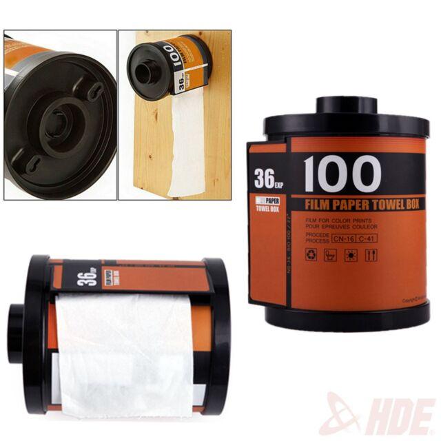Novelty Camera Roll Toilet Paper Cover Holder Film Canister Tissue  Dispenser Box
