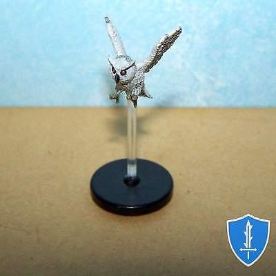 Owl - Reign of Winter #2 Pathfinder Battles D&D Miniature (Winter Owl)