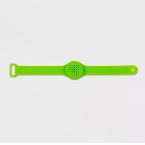 Not In My Backyard Wrist Band With 2 Refills In Green - $62.80