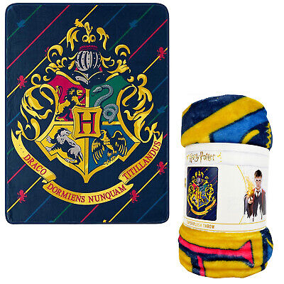Harry Potter House Pinstripes Super Plush Silky Soft Throw B