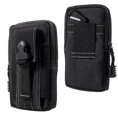 Para Sony Xperia XZ3 Móvil Cinturón Funda Protectora Clip Estuche Nilon