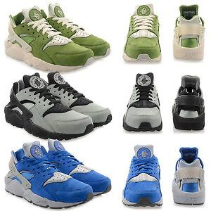 Scarpe-NUOVO-Nike-Air-Huarache-Run-Premium-Sneaker-Uomo-da-ginnastica-corsa