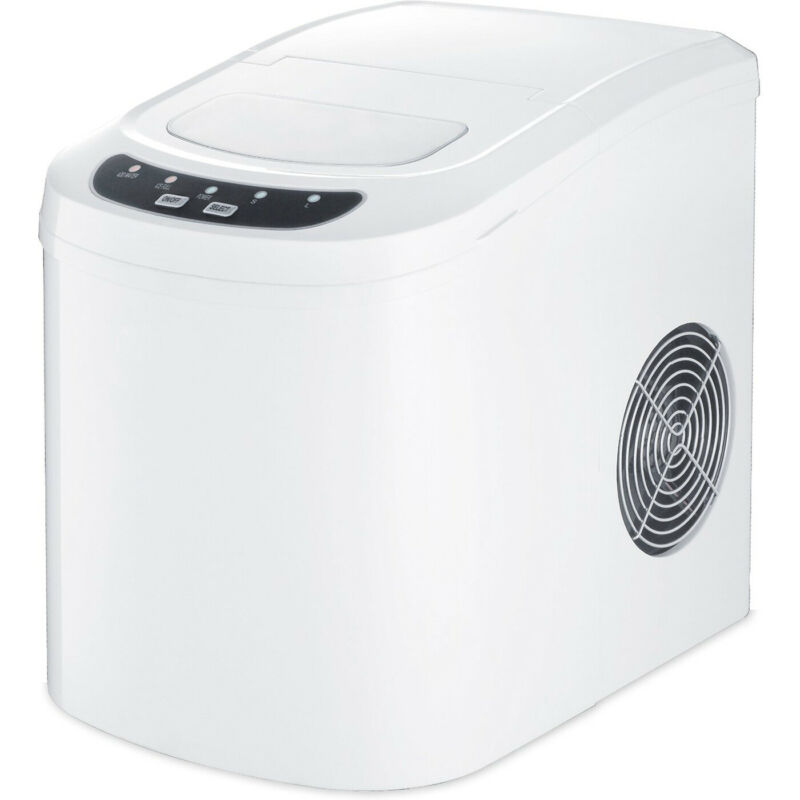 "Igloo 9.5"" 26-Lb. Portable Icemaker White ICE102-WHITE"