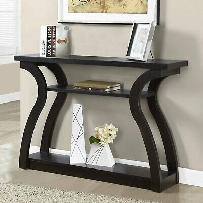 Farmhouse Console Table Narrow Accent Tables For Living Room Entryway Hallway