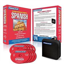 New 8 CD Pimsleur Learn to Speak  Spanish Latin  Language 16 lesson