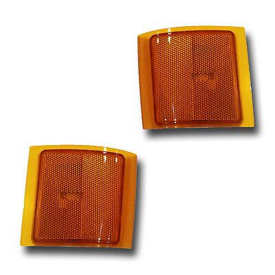 Fits 94-02 Chevrolet C K Suburban Tahoe LOWER Side Marker Light Assembly 1 Pair Chevrolet Tahoe Side Marker