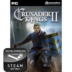 CRUSADER KINGS II 2 PC, MAC AND LINUX PC STEAM KEY
