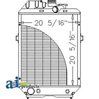 82015103 Radiator Fits Ford New Holland 5640 6640 7740