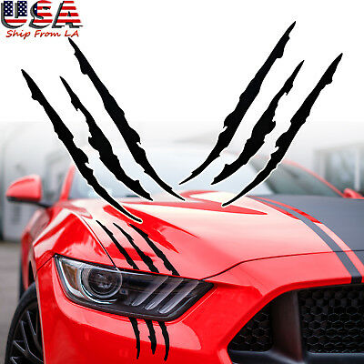 Claws Scratch Beast Monster Graphics Sticker Car Headlight Vinyl Decal Body Trim