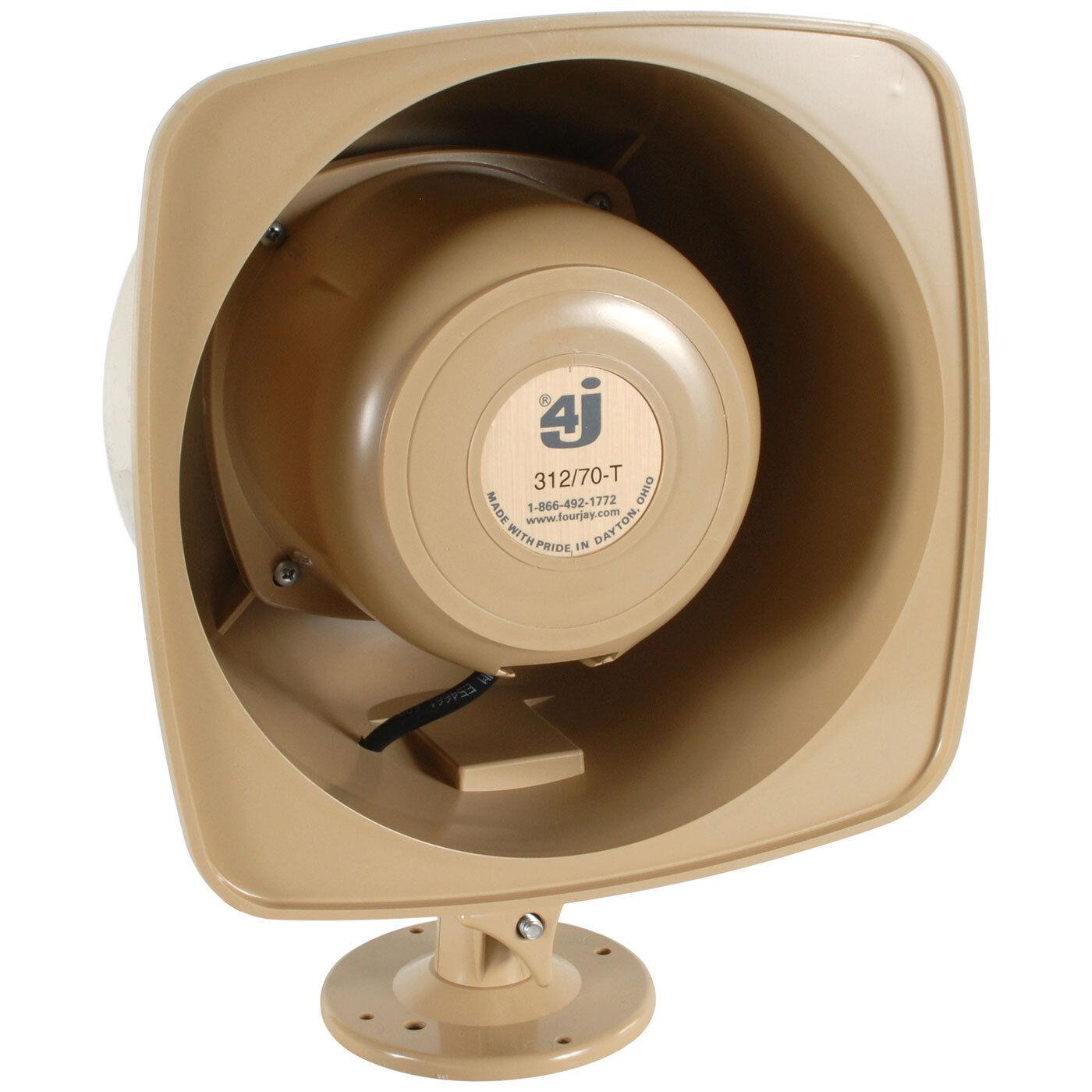 Fourjay 132-TD 25//70V Re-Entrant Horn Speaker