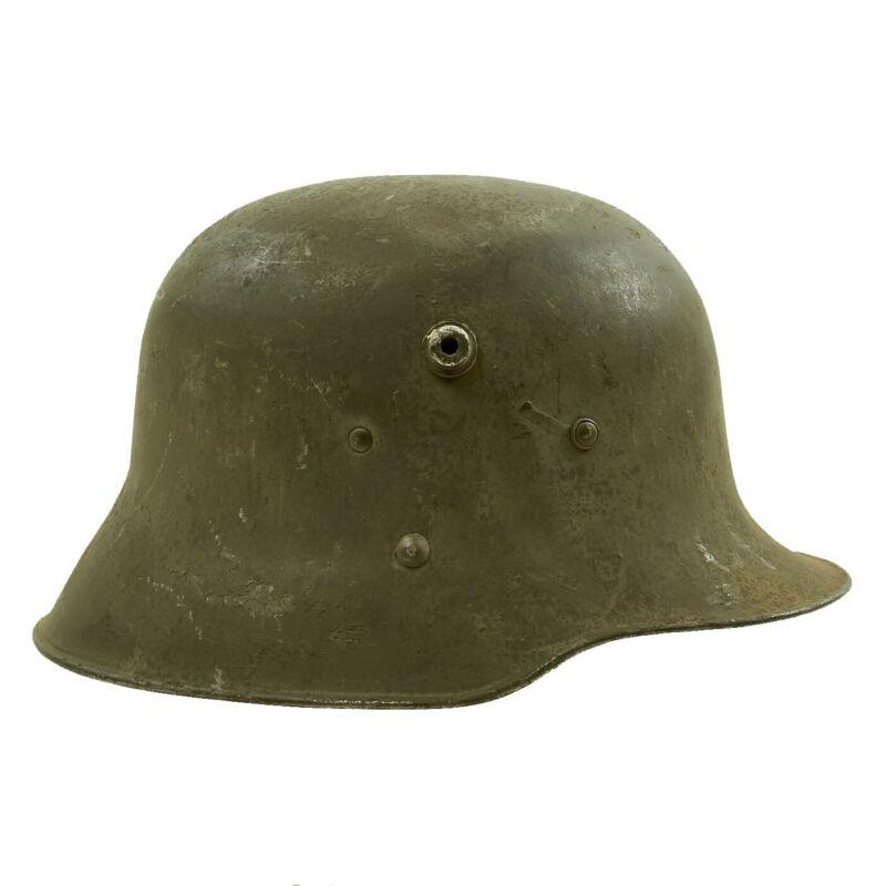 Original WWI Austro-Hungarian M17 Stahlhelm Steel Helmet - Size 64