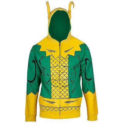 Loki Costume Hoodie Green