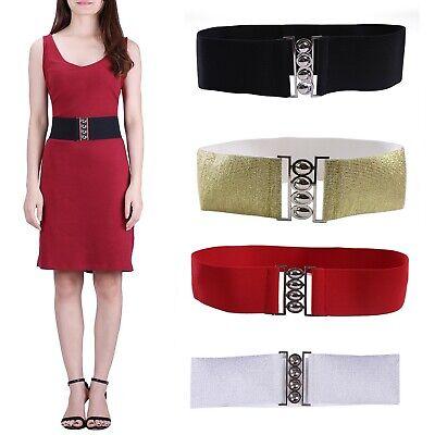 Womens Fashion Elastic Cinch Belt 3
