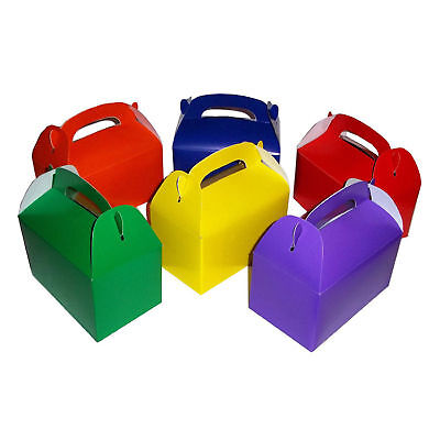 24pc Assorted Cardboard treat Boxes Party Favors Goody Bags Favor Candy Box LOT