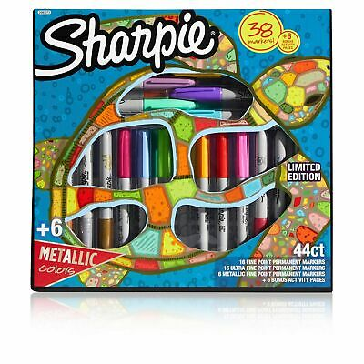 38ct Sharpie Permanent Marker Set With 6 Bonus Activity Pages