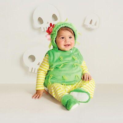 Baby Boy/Girl Plush Cactus Vest Halloween Costume~Hyde Eek! Boutique~0-6 Months
