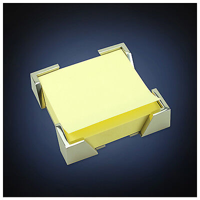 Artsondesk Modern Art Note Pad Holder Mr109 Stainless Steel Mirror Polish
