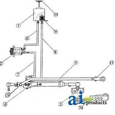 Fd100 Power Steering Kit Fits Fordnh 4000 4600