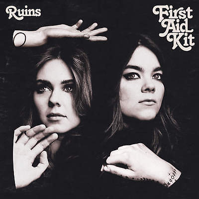 First Aid Kit Ruins Poster Swedish Folk Duo Music 12x12