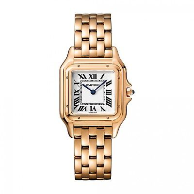 New Cartier Panthere 18K Yellow Gold Watch WGPN0007 Complete