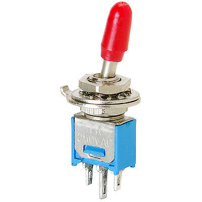 Spdt Sub-mini Toggle Switch With Cover