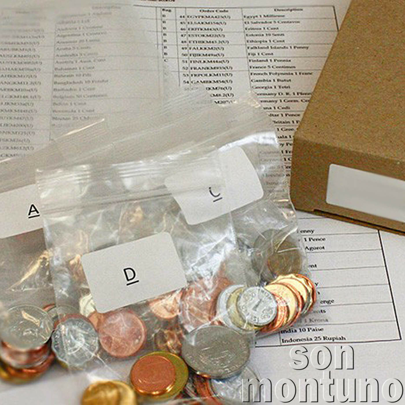 200 coins from 200 different countries - world collection - great starter gift