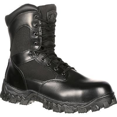 Rocky 2173 AlphaForce Waterproof Side Zip Tactical Military Combat Duty Boots Rocky Side Zip Boot