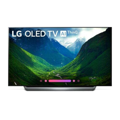 "LG 65"" 4K UHD HDR Smart OLED TV - Black/Grey"