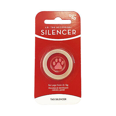 Quick Tag - Circle Shape Glow in The Dark Silencer - Large - Tag-Z